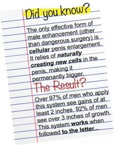 Penis Enlargement Remedy by Tom Candow